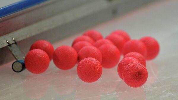 Мячи в бенди