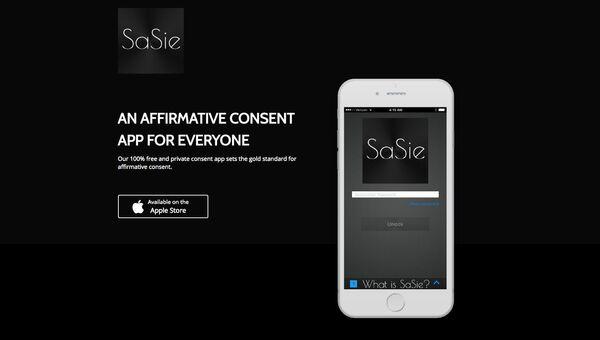 Сайт приложения SaSie