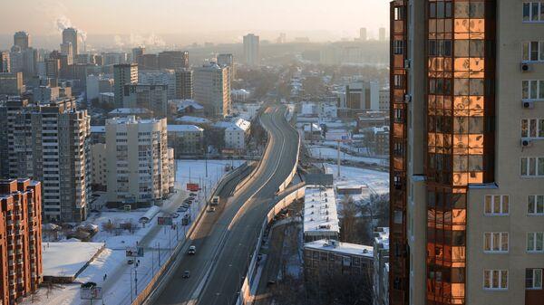 Вид Екатеринбурга, архивное фото