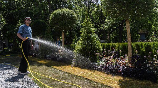 Атажукинский сад в Кабардино-Балкарии