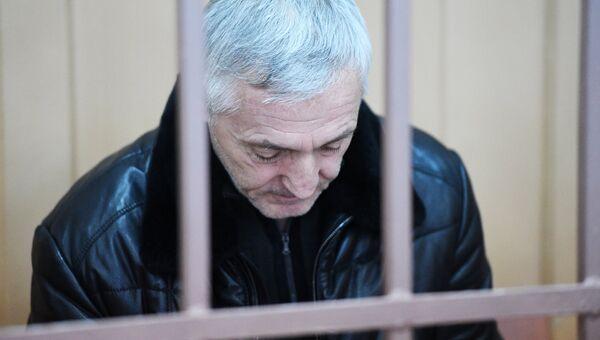 Экс-министр образования Республики Дагестан Шахабас Шахов в Бассманом суде Москвы. 6 февраля 2018