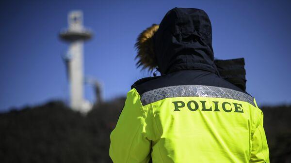Сотрудник полиции в Южной Корее