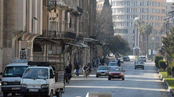 Хомс, Сирия. Архивное фото