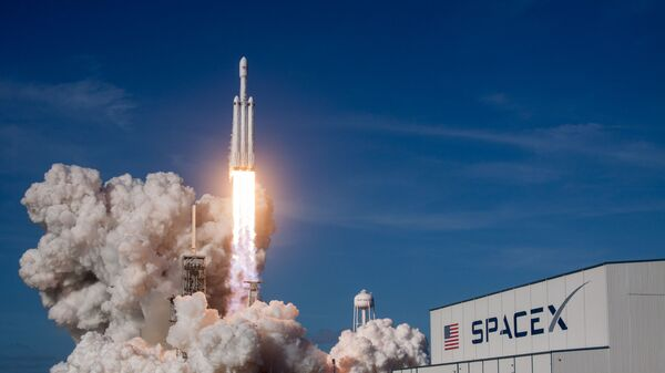 Ракета-носитель Falcon Heavy американской компании SpaceX