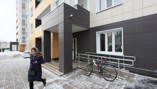 Первый дом для переселения по программе реновации в Москве. Архивное фото