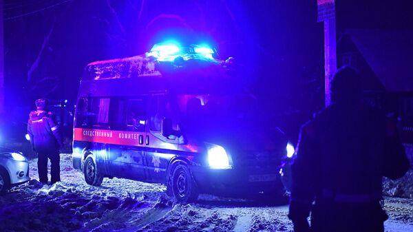 Автомобиль Следственного комитета РФ в Раменском районе Московской области