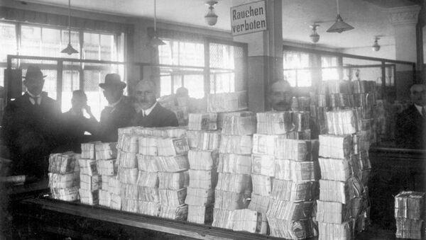 Гиперинфляция в Веймарской республике