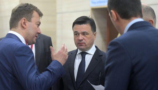 Губернатор Московской области Андрей Воробьев на Российском инвестиционном форуме в Сочи. 15 февраля 2018