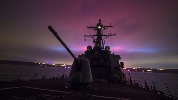 Миноносец ВМС США
