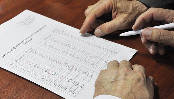 Новая версия алфавита казахского языка на основе латинской графики