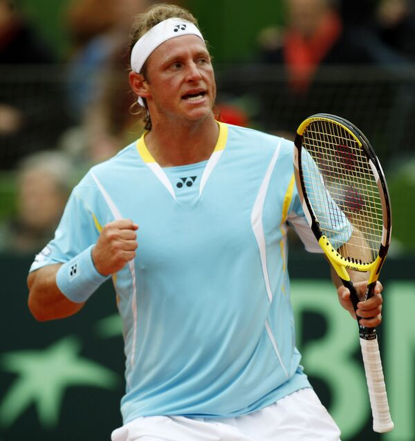 Аргентинский теннисист Давид Налбандян
