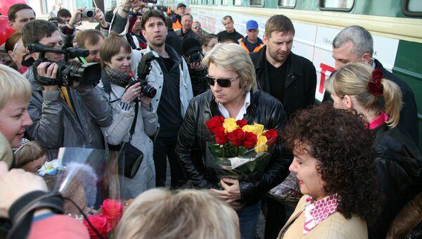 Певец Николай Басков