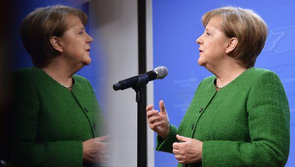 Канцлер Германии Ангела Меркель. Архив