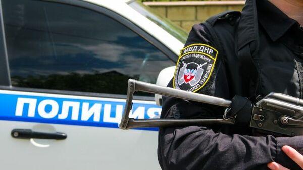 Сотрудник правоохранительных органов ДНР
