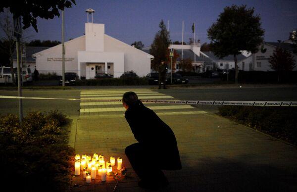 День траура по погибшим в результате стрельбы в городе Каухайоки
