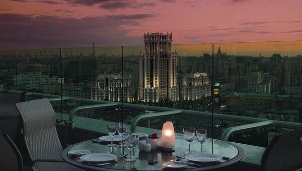Номер «Пентхаус» Swissotel Красные Холмы Москва