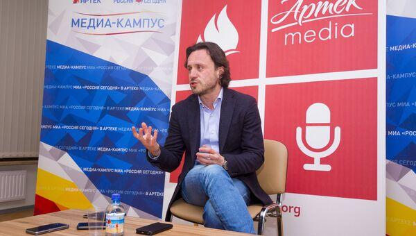 Директор МДЦ Артек Алексей Каспржак