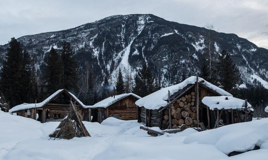 Заимка Лыковых, государственный природный заповедник «Хакасский»