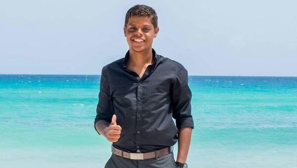 Студент из Тринидада и Тобаго Шон Абердин