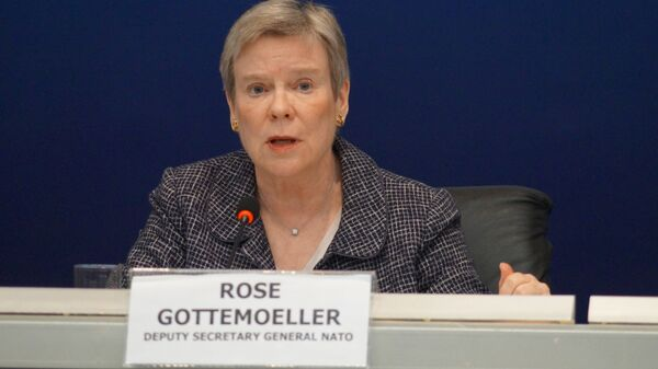 Заместитель генерального секретаря НАТО Роуз Гетемюллер