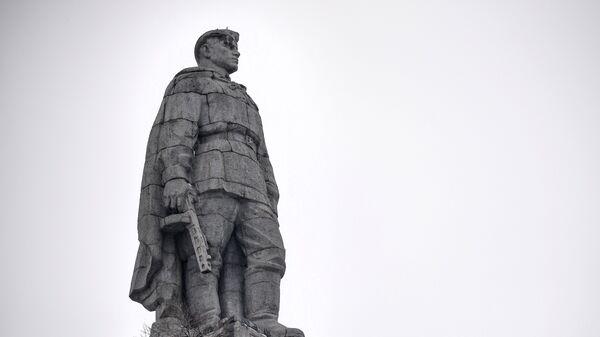 Памятник советскому солдату-освободителю Алёша в болгарском городе Пловдив на холме Бунарджик