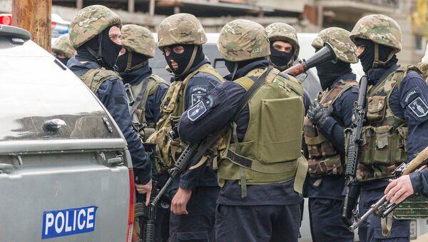 Сотрудники спецназа Грузии. Архивное фото