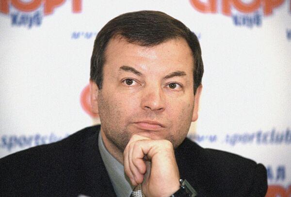 Генеральный директор профессионального баскетбольного клуба /ПБК/ ЦСКА Сергей Кущенко