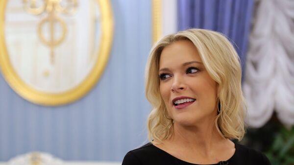 Журналист американского телеканала NBC Мегин Келли во время интервью в Кремле. 1 марта 2018