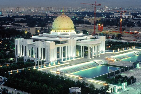 Дворец президента республики Туркмения. Архив