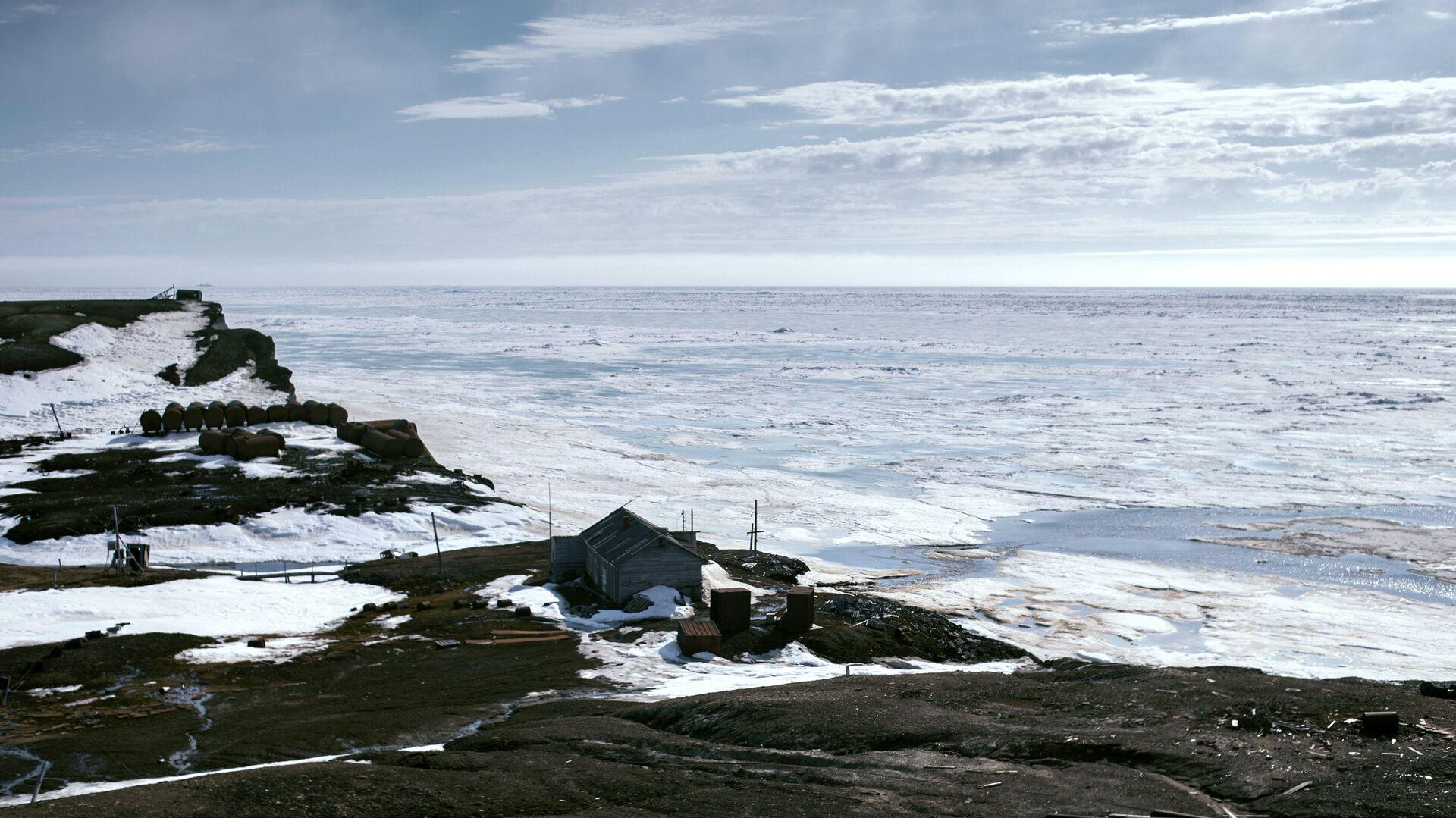Бывшая полярная станция Остров Уединение в Карском море - РИА Новости, 1920, 03.08.2021
