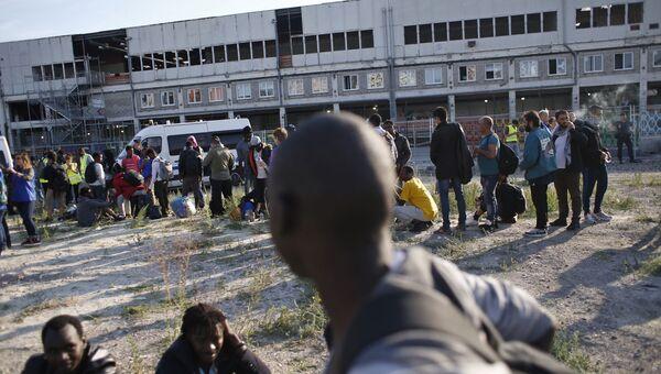 Мигранты во Франции. 7 июля 2017 года