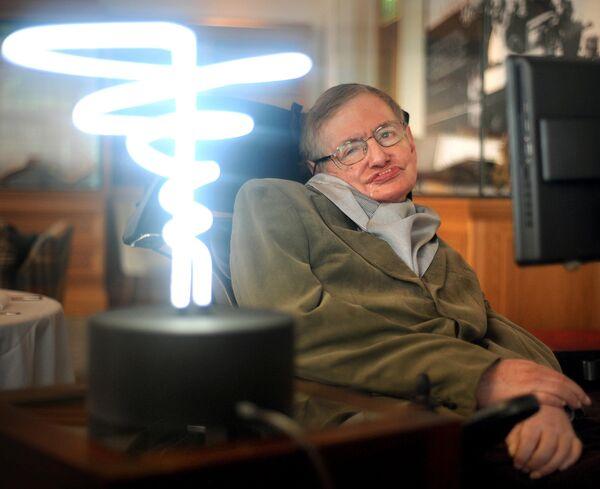 Британский физик-теоретик Cтивен Хокинг
