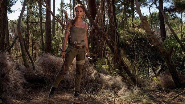 Кадр из фильма Tomb raider: Лара Крофт