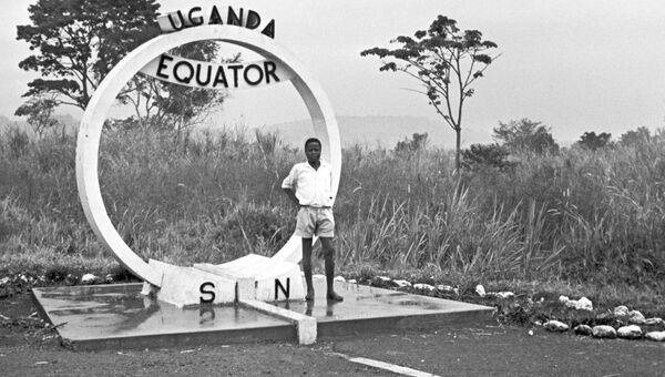 Линия экватора в нескольких десятках миль от Кампалы