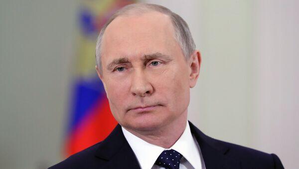 Президент РФ Владимир Путин. Архивное фото