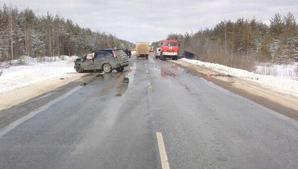 ДТП на автодороге Владимир - Гусь-Хрустальный - Тума