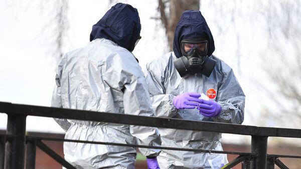 Во время следственных мероприятий, связанных с отравлением бывшего полковника ГРУ Сергея Скрипаля газом Новичок