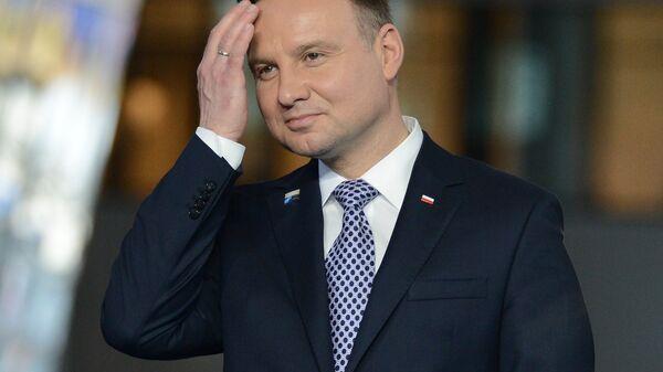 Президент Польши Анджей Дуда. Архивное фото
