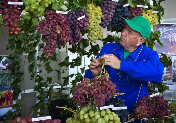 Фестиваль Золотая гроздь винограда в Крыму