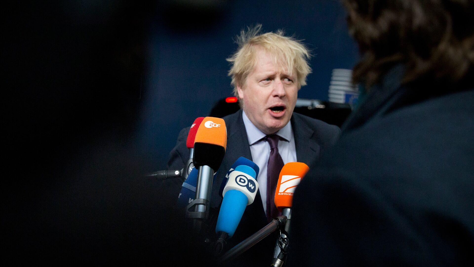 Министр иностранных дел Великобритании Борис Джонсон - РИА Новости, 1920, 04.01.2021