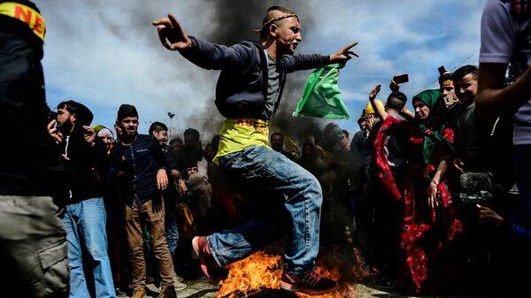 Праздник Навруз в Стамбуле, Турция