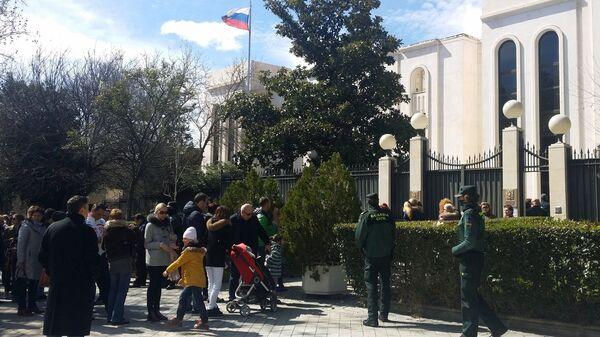 Посольство Российской Федерации в Мадриде. Архивное фото