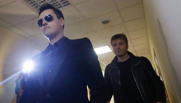 Певец Виталий Грачев (Витас) в суде. Архивное фото
