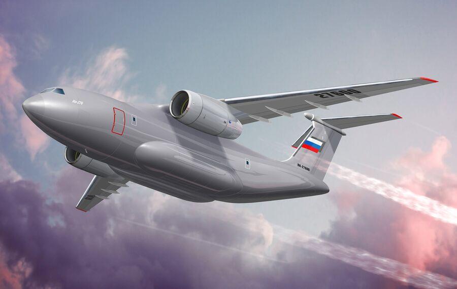 Перспективный средний военно-транспортный самолет Ил-276