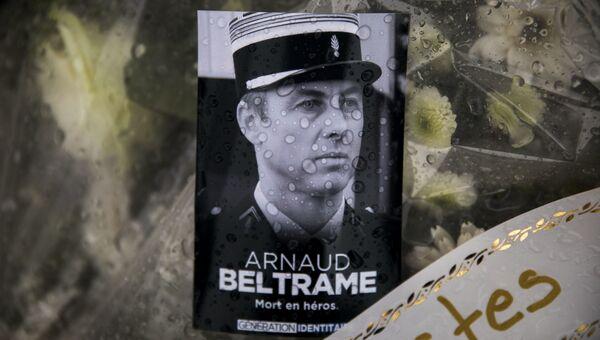Фотография подполковника жандармерии Арно Бельтрама