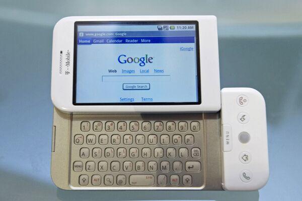 Первая модель смартфона Android, созданная при участии Google