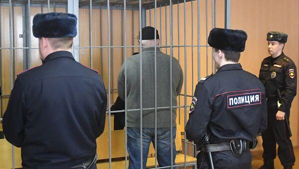Захарий Калашов во время оглашения приговора в Никулинском суде. 29 марта 2018