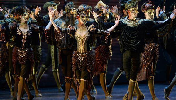 Спектакль Анна Каренина театра балета Бориса Эйфмана. Архивное фото