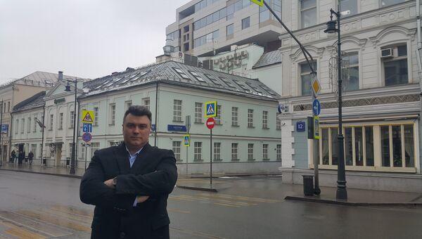 Генеральный директор московской компании Сарос-Свет М Алексей Суглоб