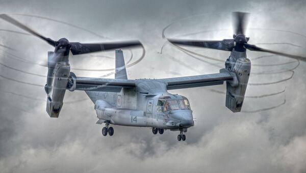 Конвертоплан Bell Boeing V-22 Osprey. Архивное фото